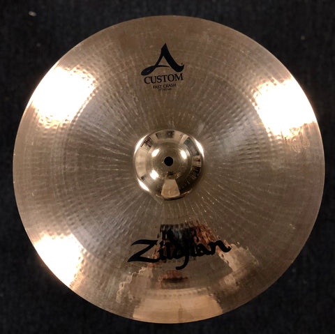 Zildjian A Custom Fast Crash 17 - 1054 Grams