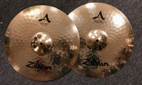 Zildjian A Heavy Hi Hats - 15 - 1265/1685 grams