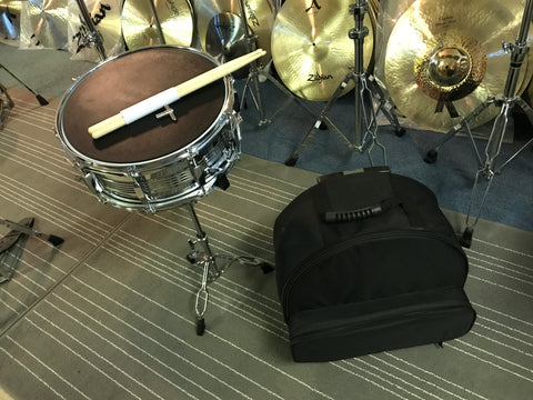 Cannon - Snare, Stand, Bag, Practice Pad, Sticks and Drum Key (SET) STARTER COMBO PACK!!