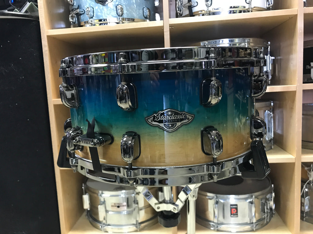 SOLD - Tama Starclassic B/B Limited ED - FIGURED OCEAN FADE  (Only 28 Made)