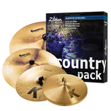 Zildjian Special K DARK Pack K Light/ Crashes-Ride-Hi Hat 5 Cymbal Country PACK (FREE Tune-Bot with purchase)