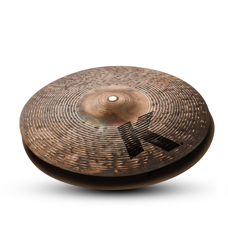 "13"" ZILDJIAN K CUSTOM SPECIAL DRY HI HAT PAIR (FREE Skype Lesson with purchase)"