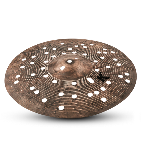 14'' ZILDJIAN K CUSTOM SPECIAL DRY FX HAT TOP (FREE Skype Lesson with purchase)