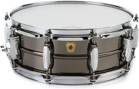 "Ludwig Black Beauty Snare Drum 5"" x 14"" - LB416 - $699.00 - made in the USA"
