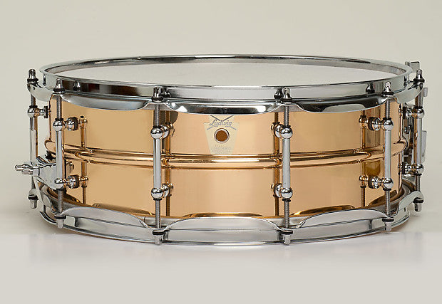 Ludwig Bronze Phonic LB550T: 5x14 w/ Tube Lugs - made in the USA!