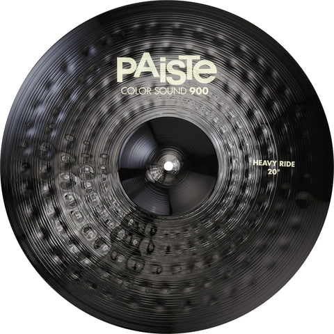 "Paiste Black Heavy Ride 20"" or 22"" Color Sound 900"