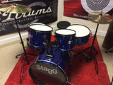 "Stagg - Complete Adult Drum Set - 20"" or 22"" Bass Drum Configuration"