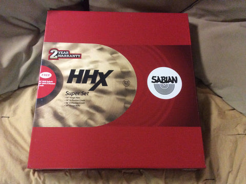 Sabian HHX Cymbal Super Set