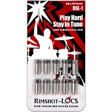 Rimshot-Locs RSL 1 (DW and PDP Drums) PLAY HARD...STAY IN TUNE! (FREE SHIPPING WORLDWIDE)