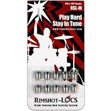 Rimshot-Locs RSL Mini (DW and PDP Drums) PLAY HARD...STAY IN TUNE! (FREE SHIPPING WORLDWIDE)