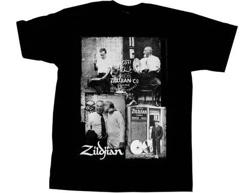 Zildjian Photo Real New Model T Shirt- Show Your Love! FREE WORLDWIDE SH