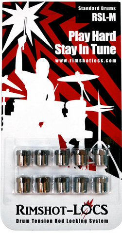 Rimshot-Locs RSL Mini (Standard Drums) PLAY HARD...STAY IN TUNE! (FREE SHIPPING WORLDWIDE)