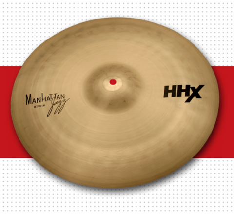 "18"" HHX MANHATTAN JAZZ CRASH including shipping"