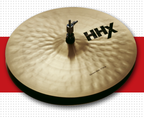 "15"" HHX GROOVE HATS"