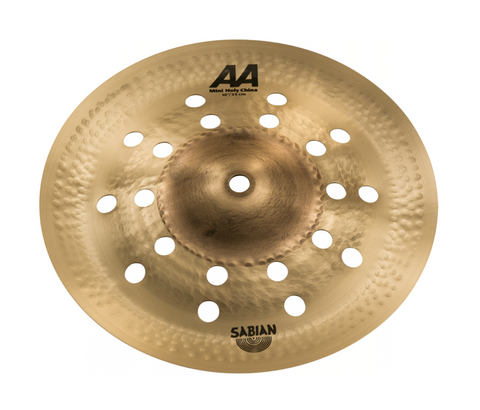 "SABIAN 10"" AA Mini Holy China CYMBAL Catalog Id 21016CS"
