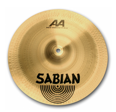 "SABIAN 12"" AA Mini Chinese CYMBAL Catalog Id 21216"