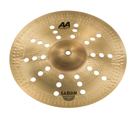 "SABIAN 12"" AA Mini Holy China CYMBAL Catalog Id 21216CS"