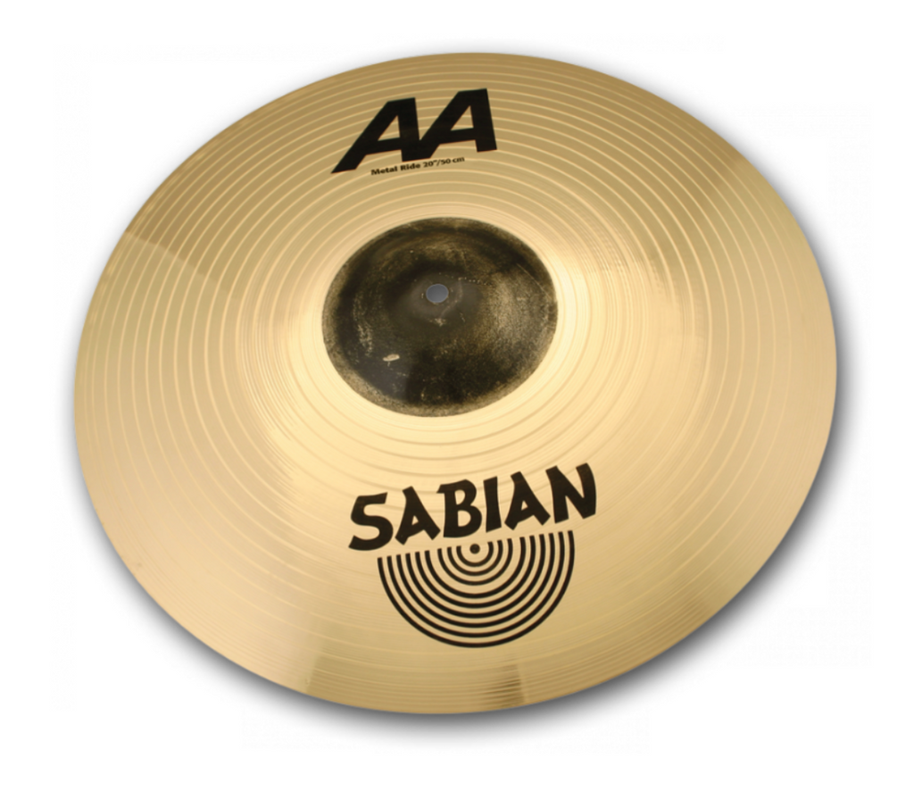 "SABIAN 20"" AA Metal Ride CYMBAL Catalog Id 22014MB"