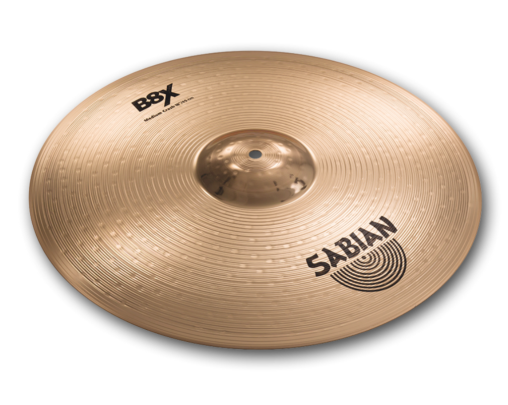 "SABIAN 18"" B8X Medium Crash CYMBAL 41808X"