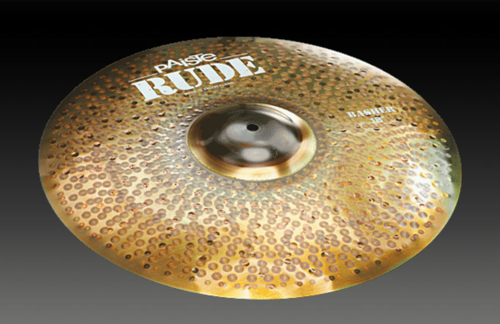 PAISTE 18 RUDE BASHER CYMBAL CY0001125420
