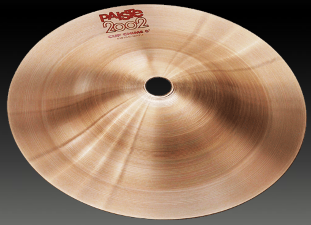 PAISTE #6 2002 CUP CHIME 5 1/2'' CYMBAL CY0001069106
