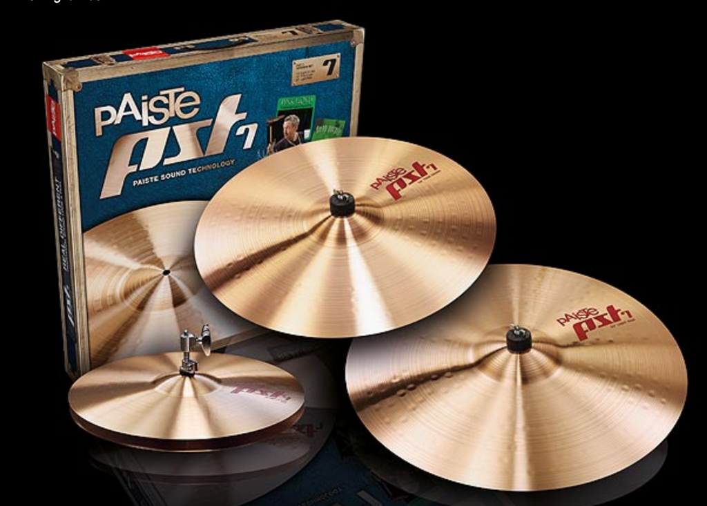 PAISTE PST 7 LIGHT/SESSION CYMBAL SET 14/16/20 CY000170SSET