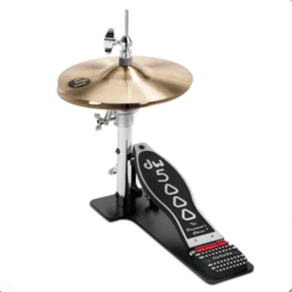 DW 5000 SERIES LOW BOY HI-HAT w/CYMBALS DWCP5500LB