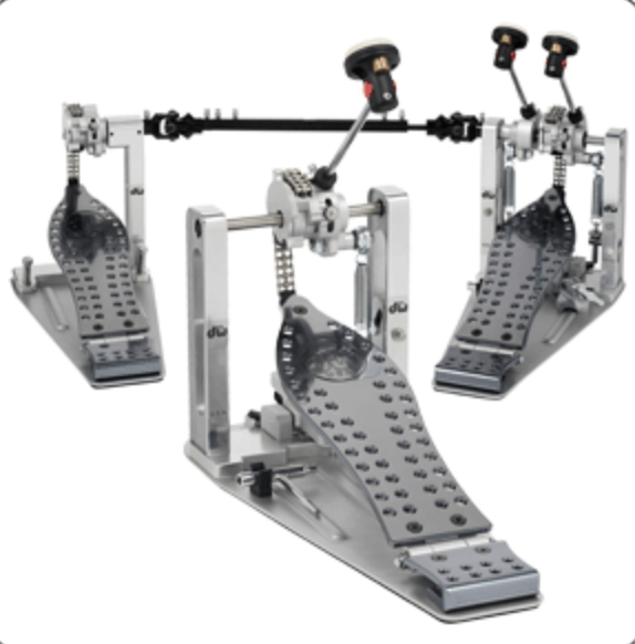 DW MACHINED CHAIN DRIVE DOUBLE PEDAL DWCPMCD2