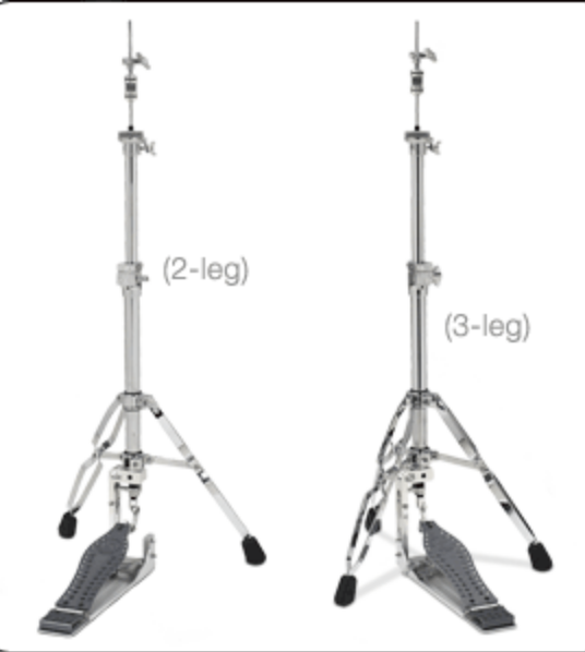DW MACHINED DIRECT DRIVE HI-HAT 3 LEGS DWCPMDDHH3