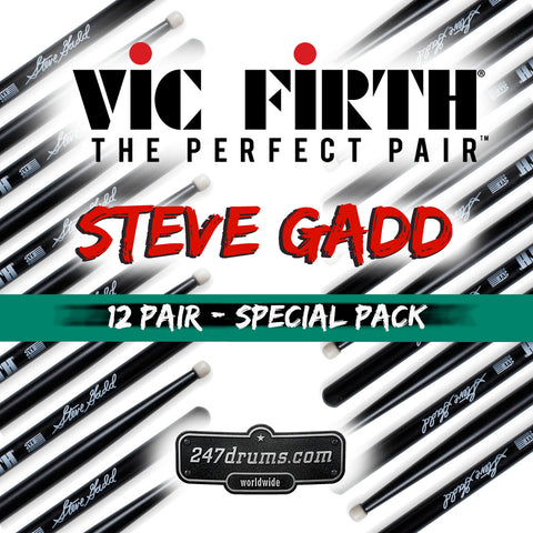 Steve Gadd - Vic Firth / Model SSG - Signature Series - 12 pair special Pack DEAL