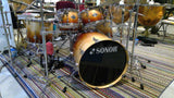 SOLD! Sonor Select Force CANADIAN MAPLE 6 Pc Drum Set Autum Fade-S DRIVE SET
