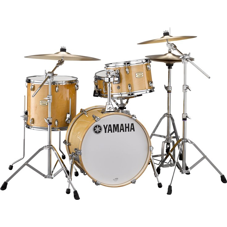 Yamaha Stage Custom Bebop 3-piece Shell pack - Natural Wood