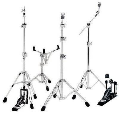 DW 3000 Series Standard Medium Weight Hardware as a pack or individual pieces (option hi hat stand 2 or 3 legs - option snare stand, reg or concert)