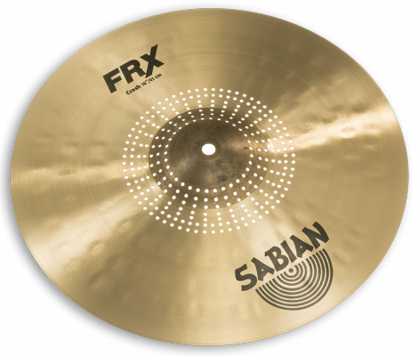 "Sabian FRX Frequency Reduced Crash Cymbal for drums - 16"" - FRX1606"