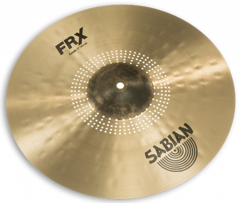 "Sabian FRX Frequency Reduced Crash Cymbal for drums - 17"" - FRX1706"