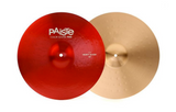 "Paiste Color Sound 900 Black Heavy Hi-Hat 14"" or 15"" - Black, Red, Blue, Purple."