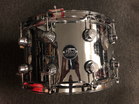 "DW Performance Series Steel Snare - 8"" x 14"" - NEW - With Video"