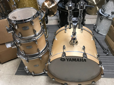 Yamaha tour custom butterscotch 20 10 12 14 MINT show-room cond 4 drums