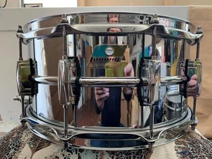 Ludwig LM402B 2020 usa SUPRAPHONIC 6.5 x 14 snare drum LM402 B stock
