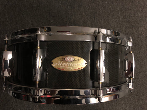 Pearl Master works Carbon Fiber Snare Drum - 5.5x14 - USED