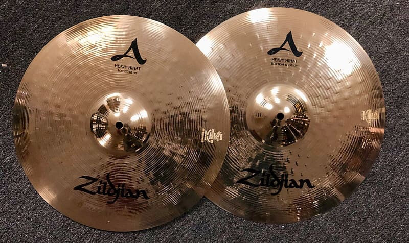 Zildjian A Heavy Hi Hats - 16 - 1265/1685 grams - DEMO