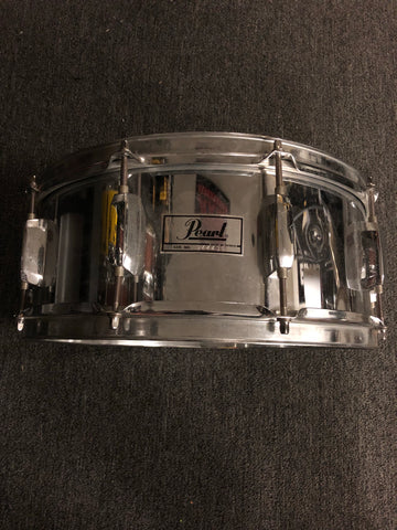 Pearl Steel Snare Drum - 5.5x14 - USED - 944436