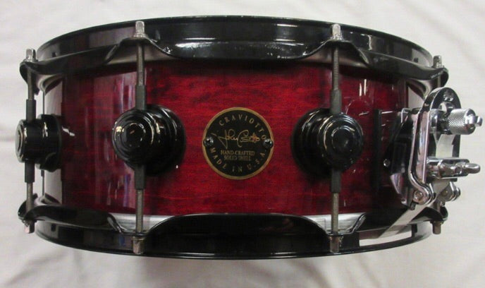 SOLD Dw Craviotto USA rare Snare Drum 5 x 14 solid ply