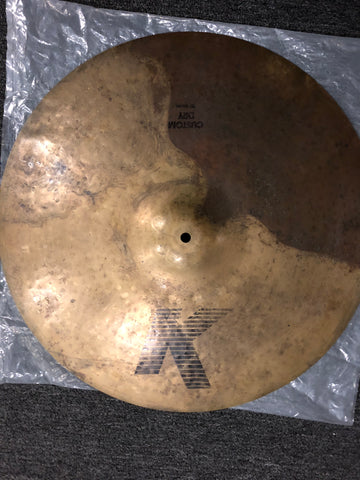 "Zildjian K Custom Dry Ride Cymbal - 20"" - 2829 grams - Used"