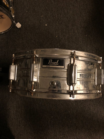 Pearl Vintage Steel Snare Drum - 5.5x14 - USED - WITH VIDEO