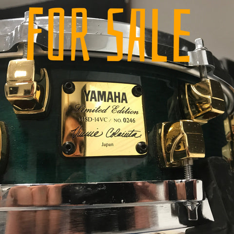 SOLD Rare VINNIE COLAIUTA Yamaha made japan snare drum n 246 excellent cond