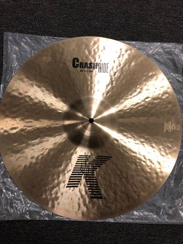 "Zildjian K Crash Ride Cymbal - 20"" - 2119 grams - New"