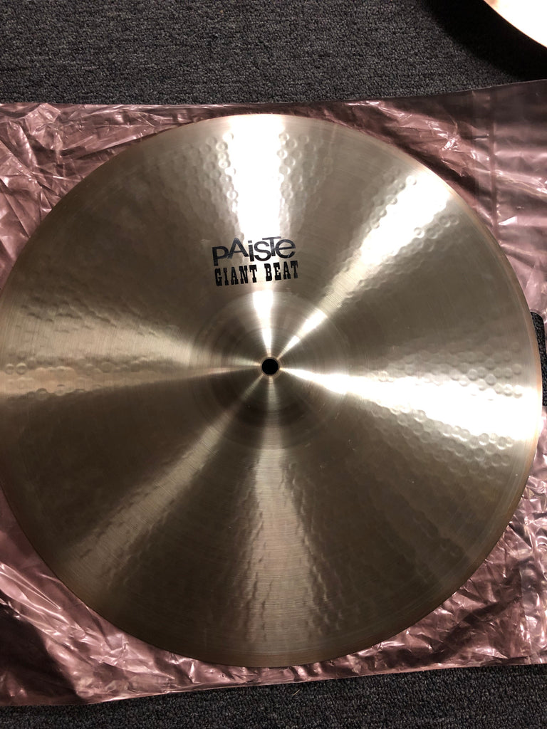 "Paiste Giant Beat Crash Cymbal - 18"" - 1311 grams - New"