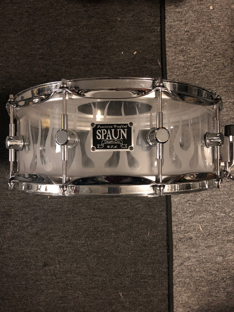 Pork Pie  Little Squeeler Snare Drum - 12x5 -Silver to Black fade - USED