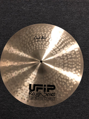 "UFIP Rough Series Crash Ride Cymbal - 20"" - 2100 grams - DEMO"